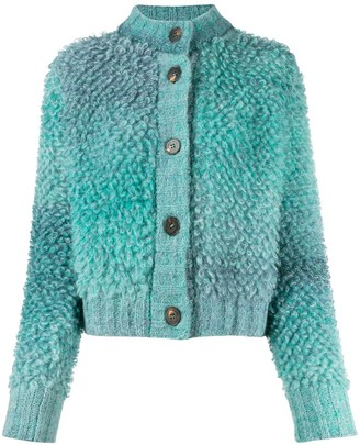 Roberto Collina Textured Chunky-Knit Cardigan