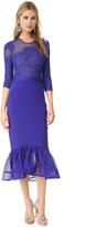 Three floor Seductive Blue Dress