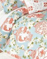 Jane Wilner Designs Queen Mikado Duvet Cover
