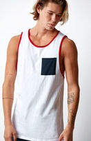 On The Byas Contrast Pocket Tank Top
