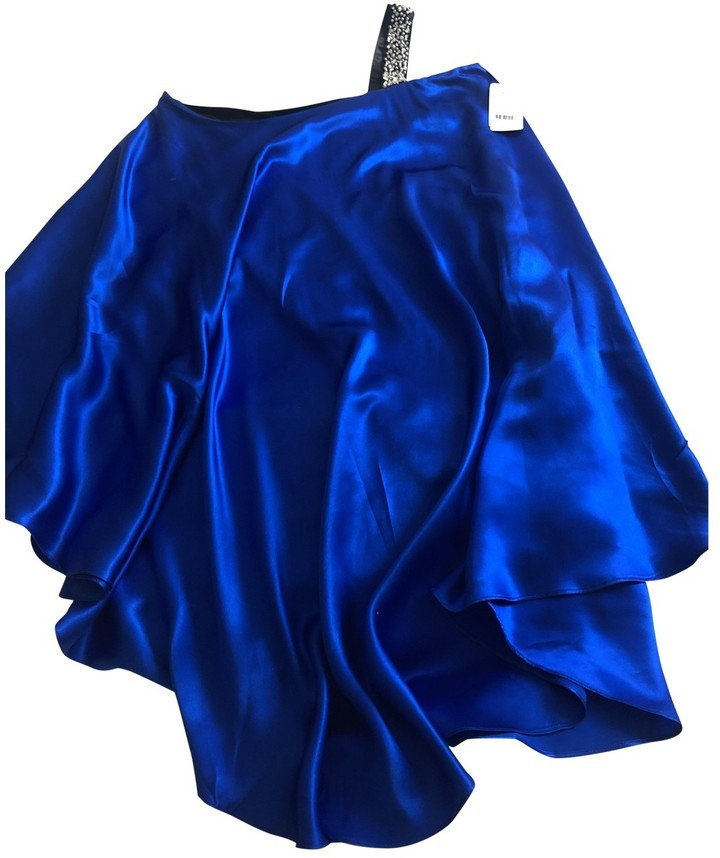 Erin Fetherston Blue Silk Dresses