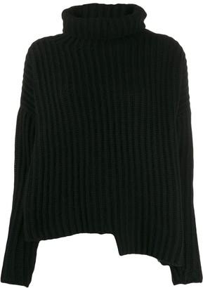 Thom Krom Asymmetric Turtle-Neck Sweater