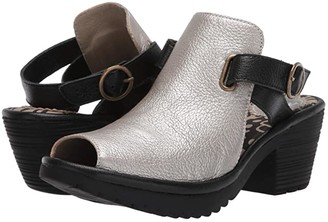 Fly London WENA137FLY (Black Mousse) Women's Shoes