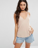 Asos V Front and Back Cami Top
