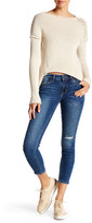 Just USA Mid Rise Skinny Cropped Jean