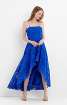 Nicole Miller Scalloped Lace Dress