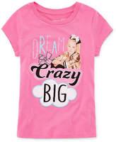 Jo-Jo JOJO Jojo Short Sleeve Crew Neck T-Shirt-Big Kid Girls