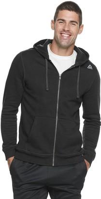 Reebok Men's Training Essentials Full-Zip Fleece Hoodie