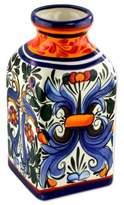 Ceramic vase, 'Secret Garden'