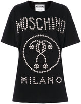 Moschino studded question mark T-shirt