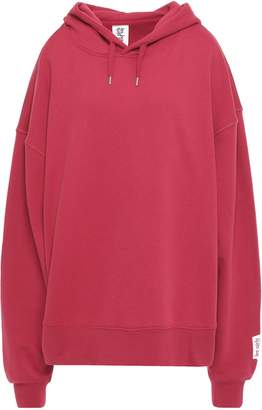 Les Girls Les Boys Oversized French Stretch-cotton Terry Hoodie