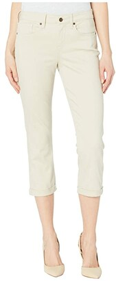 NYDJ Chloe Capri Jeans in Feather (Feather) Women's Jeans
