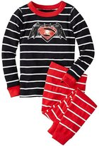 DC ComicsTM Batman v Superman Long John Pajamas In Organic Cotton