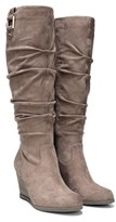 Dr. Scholl's Women's Poe Wide Calf Wedge Boot