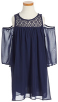 Soprano Cold Shoulder Dress (Little Girls)