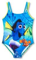 Finding Dory Disney Finding Nemo Dory Girls' One Piece Swimsuit
