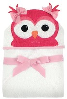 Hudson Baby Newborn Hooded Animal Towel - Owl