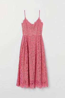 H&M Lace Dress - Pink