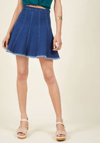 ModCloth Here and Spirited Mini Skirt in 2X