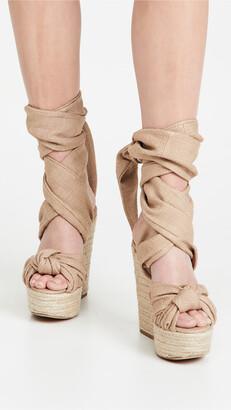 Alexandre Vauthier Leila Wedge Sandals