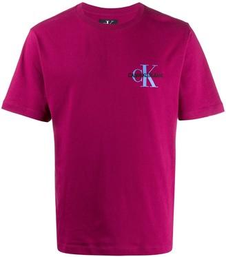 Calvin Klein Jeans embroidered logo T-shirt