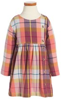 Tea Collection Toddler Girl's Plaid Flannel Dress