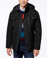 London Fog Big & Tall Hooded Puffer Parka