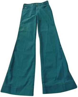 Karl Lagerfeld Paris Blue Cotton Jeans for Women