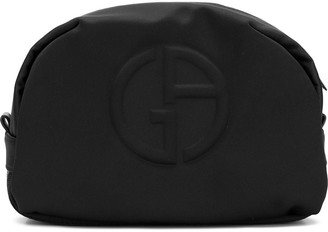 Giorgio Armani Embossed Logo Wash Bag