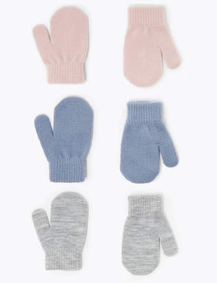 Marks and Spencer 3 Pack Kids' Magic Mittens