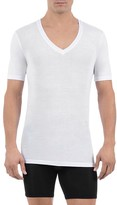 Tommy John Cool Cotton Deep V Neck Tee