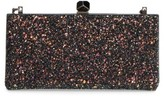 Jimmy Choo Celeste Glitter Frame Clutch - None
