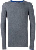 Roberto Collina cashmere contrast collar sweater