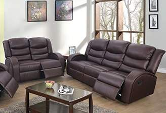 Beverly Fine Funiture Recliner Sofa Set