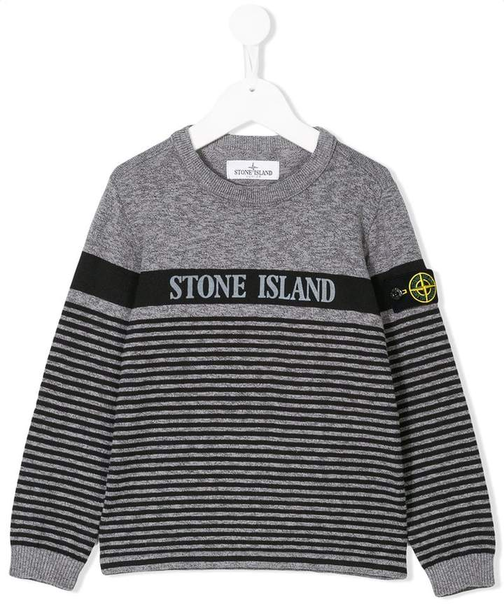 Stone Island Junior striped sweater