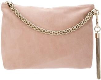 Jimmy Choo ballet pink Callie clutch