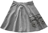 Urban Smalls Gray Boombox Circle Skirt - Toddler & Girls