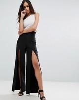Asos Super Highwaist Wide Leg Pant with Split Detail