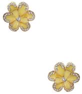 Amrita Singh Jessy Enamel Floral Stud Earrings