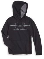 Under Armour Boy's Logo Hooded Sweatshirt
