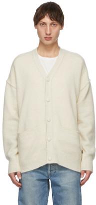 Tanaka Off-White Cashmere Blend Cardigan