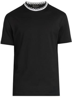 Versace Taylor-Fit Logo Collar T-Shirt