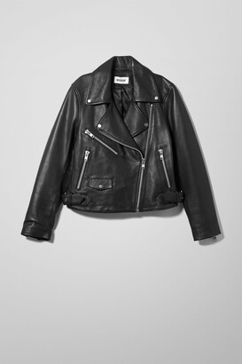 Weekday Jemina Biker Jacket - Black