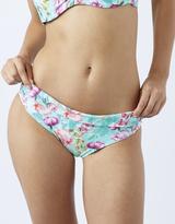 Accessorize Desert Rose Print Fold Down Bikini Briefs