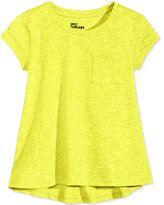 Epic Threads Crewneck High-Low T-Shirt, Toddler & Little Girls (2T-6X), Only at Macy's