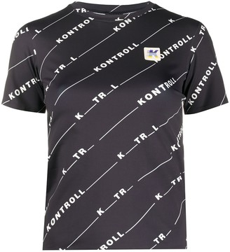 Kappa Kontroll logo T-shirt