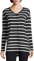 Liz Claiborne Long Sleeve Tunic Top Talls