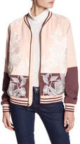 Juicy Couture Stockholm Floral Embroidered Jacket