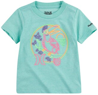 Hurley Perch Graphic Crew Neck T-Shirt
