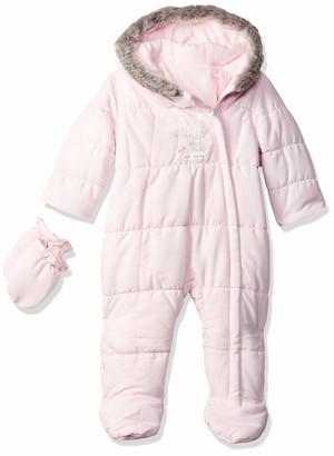 Mothercare Baby Girls' Graphic Snowsuit Fleece